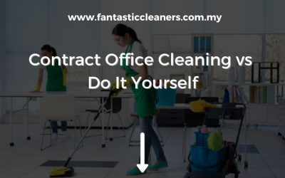 Contract Office Cleaning vs Do It Yourself