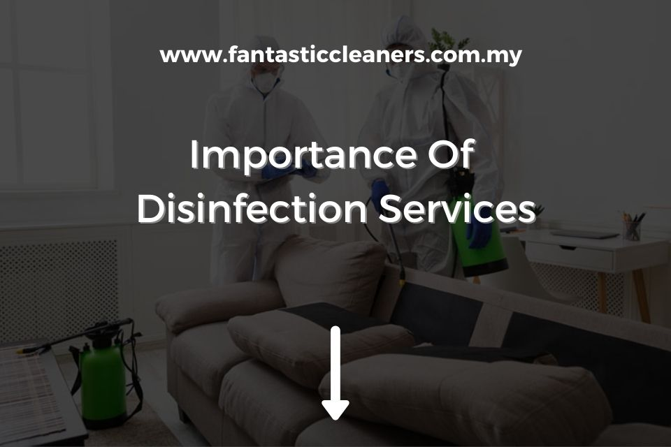 Importance Of Disinfection Services