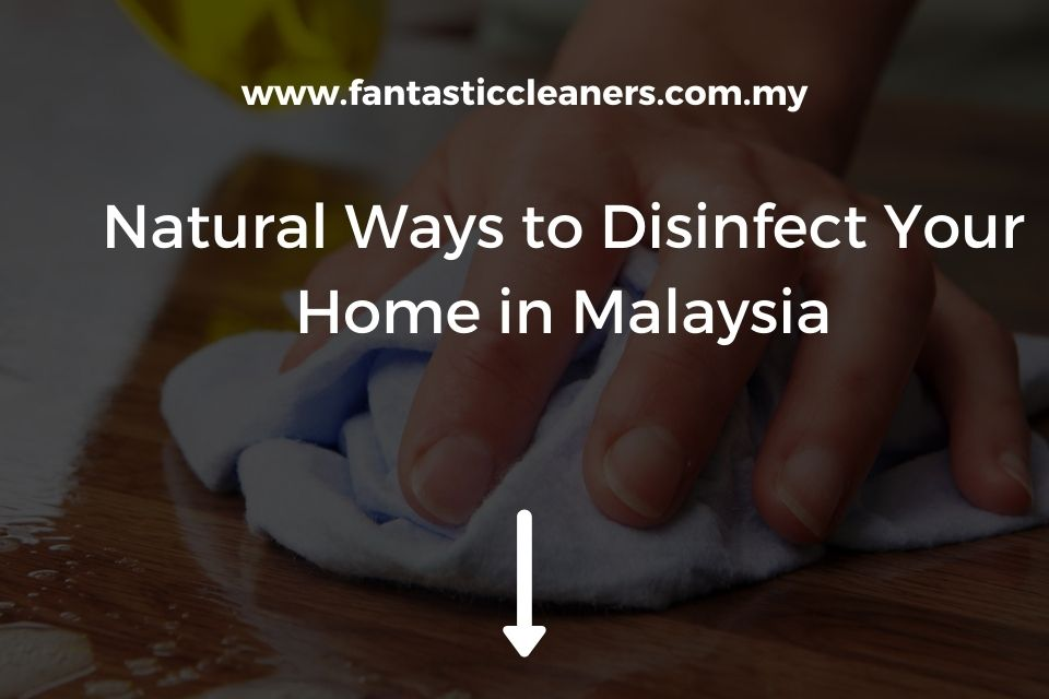Natural Ways to Disinfect Your Home in Malaysia