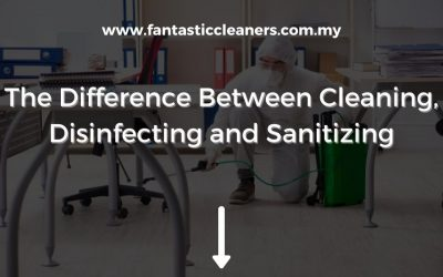 The Difference Between Cleaning, Disinfecting and Sanitizing?