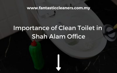Importance of Clean Toilet in Shah Alam Office